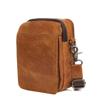 Multi Functional Genuine Leather Men S Bag Casual Messenger Bag Cow Leather A4259
