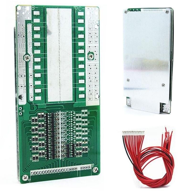 1 pz di Alta Qualità 48 V 14 S 45A Batteria Li-Ion BMS PCB con Equilibrio Adatto Per Ebike Escooter 120x60x9mm