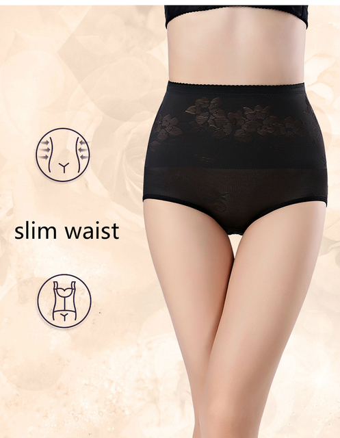 PRAYGER 2pcs 5XL Plus Size Women Slimming Body Control Panties Tummy Trimmer Shaper Butt Lift Underwear Magic Breathable Briefs 2