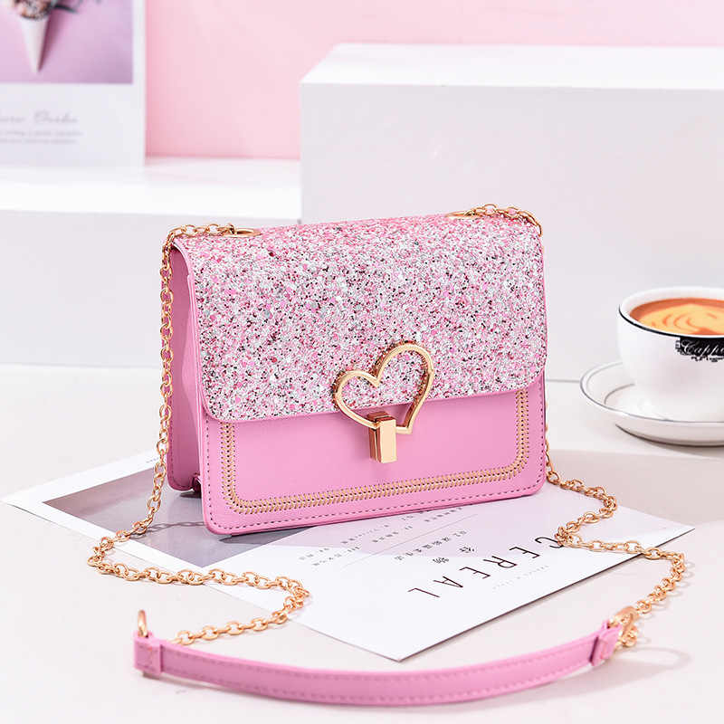 2019 Newest Shoulder Bags Crossbody Bags For Women Cute Chain black Handbag fashion bags women leather hand bags for Ladies