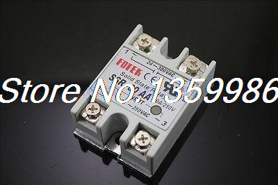 10pcs Solid State Relay SSR-80 AA AC-AC 80A/250V 80-250VAC/24-380VAC new and original fotek single phase ac solid state relay ssr 75aa 75a 24 380vac 80 250vac