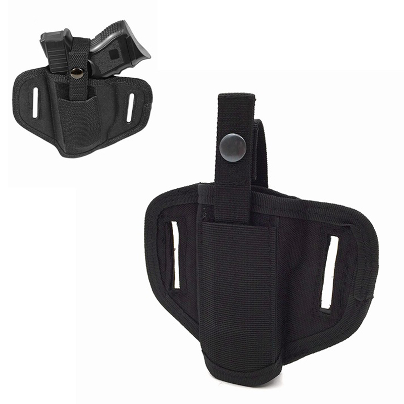 Tactical Left And Right Hand Belt Holster For Universal Compact Hand Gun Military Gun Carry Concealed Belt Holster