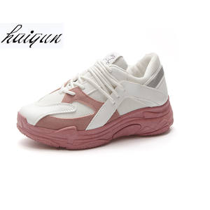 haiqun 2018 Women Sneakers Flat platform casual shoes 4cc9ff5d6c