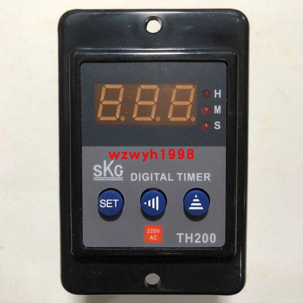 Key Digital Display Time Relay SKG TH200 used for Taiwan SKGKey Digital Display Time Relay SKG TH200 used for Taiwan SKG