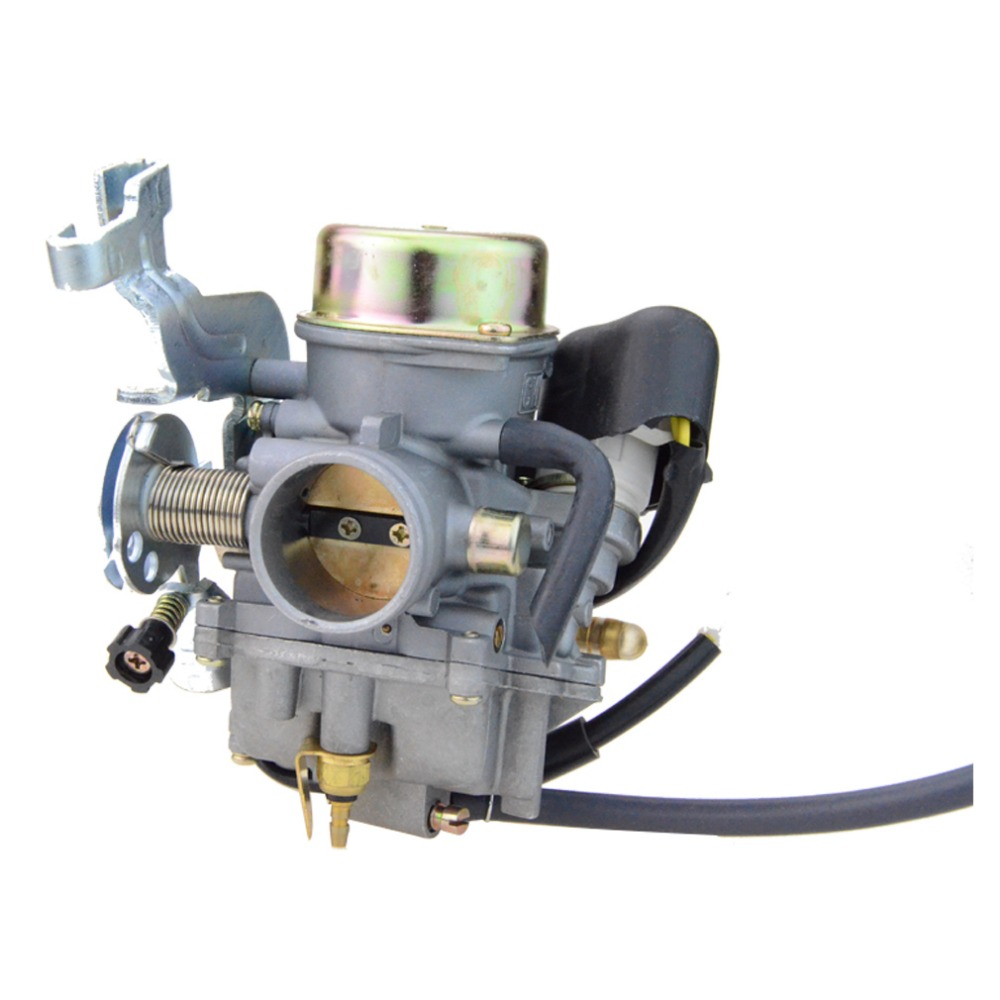 GOOFIT CVK 30mm Carburetor for Manco Talon 260cc 300cc Linhai Bighorn 260cc 300cc ATV UTV motorcycle Carb Carburettor N090-136 goofit twin carburetor double carburettor cylinder carb chamber 250cc rebel cmx 250cc cmx250 ca250 cbt250 n090 050