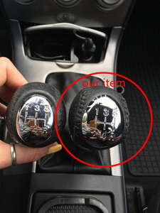 Shift Knob Stick Sticks For Mazda 3 5 6 323 626 Premacy MPV Rx8 5 6 Speed  Gears