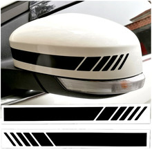цена на Rearview Mirrors Stickers Decor Vinyl Car Stickers and Decals Car Styling For Mercedes BMW Volkswagen Ford Toyota Honda Renault