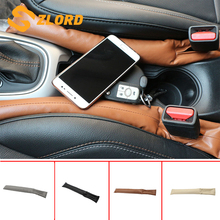 Zlord сиденье автомобиля ручной тормоз прокладка для заполнения зазора для Honda Accord брелок HR-V город брелок с чехлом подходит для Subaru для Suzuki