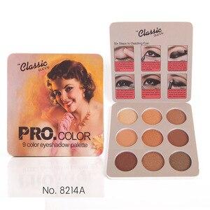 Image 2 - Matte Eyeshadow Palette Naakt Mineralen Professionele Oogschaduw Poeder Pigment Cosmetische Waterdichte Matte Make Up Oogschaduw Palet