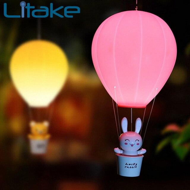 US $19.25 |Litake Dimmbare Heißluftballon Led nachtlicht Kinder Baby  Kinderzimmer Lampe Mit Touch schalter USB Wiederaufladbare Wandleuchte in  Litake ...