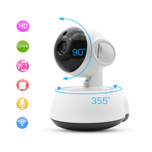 720P HD Surveillance Wireless Camera Rotatable Network Smart Home Security IP Cameras Night Vision Baby Monitor