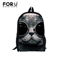 China Panda White Cat Printing Cartoon Backpacks for Girls Children School Back pack Bags Child Backpack Kids Mochila Book Bags