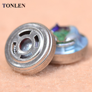 TONLEN 10pcs 9.2mm DIY Earphon