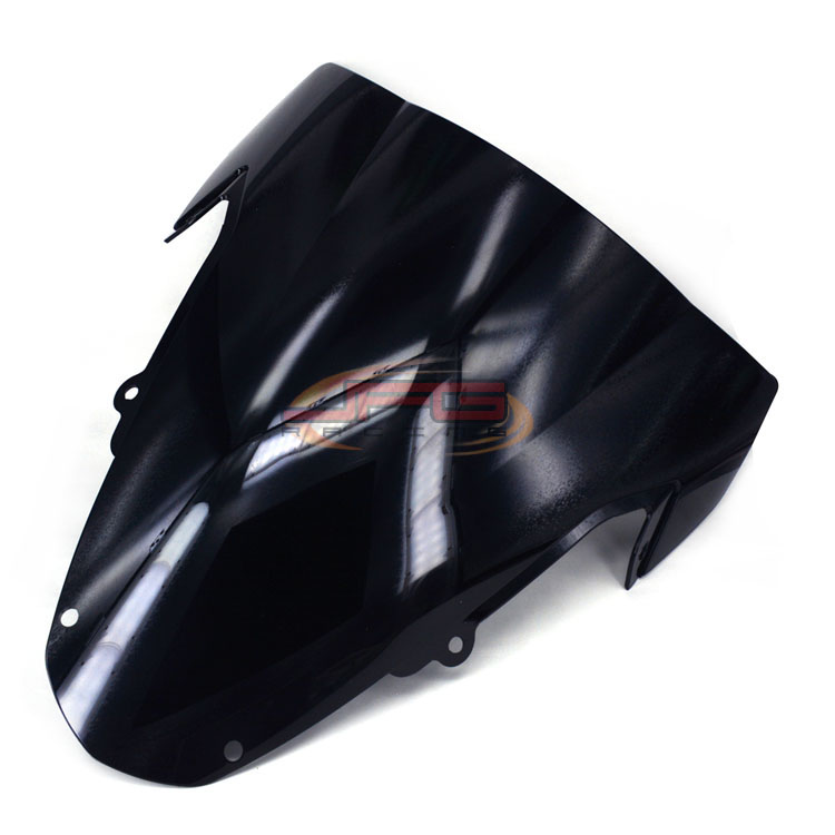 Black Windscreen Windshield for Suzuki K3 GSXR1000 GSXR 1000 03 04
