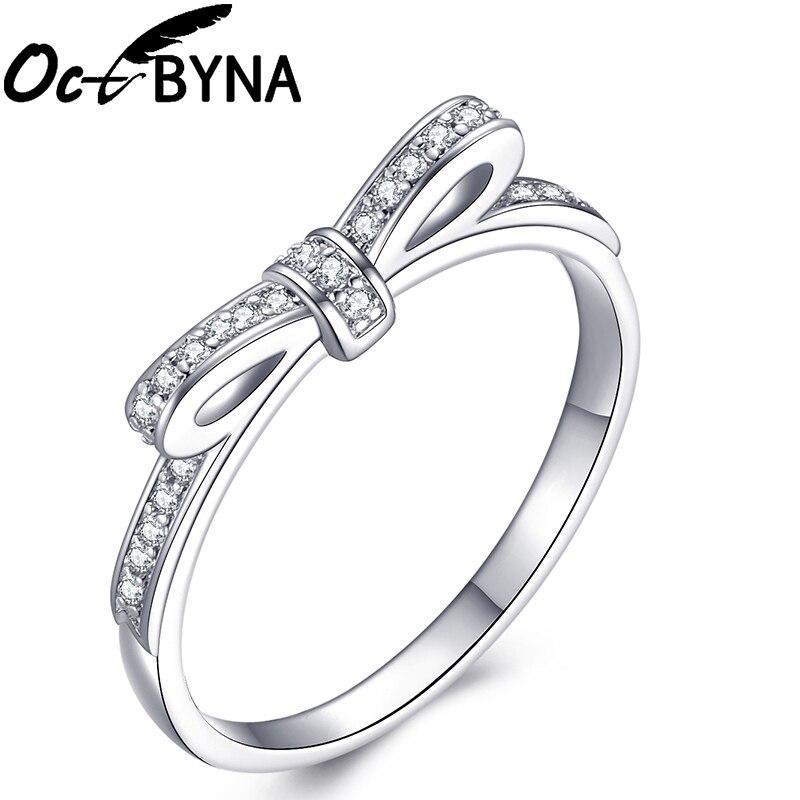 Модное Сверкающее циркониевое серебряное кольцо для женщин, цветочное сердце, корона, кольца на палец, фирменное кольцо, ювелирное изделие, Прямая поставка - Цвет основного камня: 19