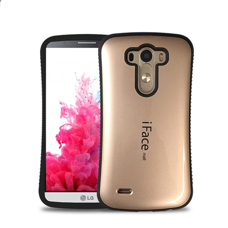 Soft Silicone Edge Cover For LG G3 Cases for LG G3 D855 D850 Protective Back Cover Shockproof Cover Anti-Knock Shell Phone Bag