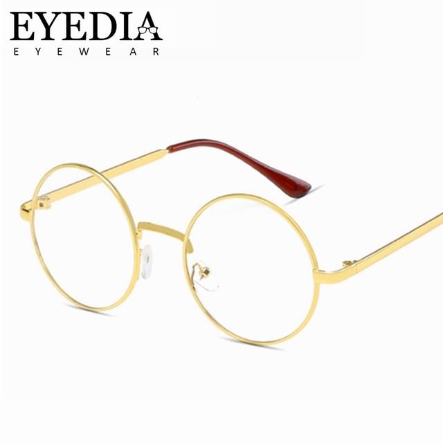 c0a6f3f31e3 2018 Hot New Brand Designed Fashion Retro Women Glasses Frame Men  Eyeglasses Frames Vintage Round Clear Lens Glasses L702CJ