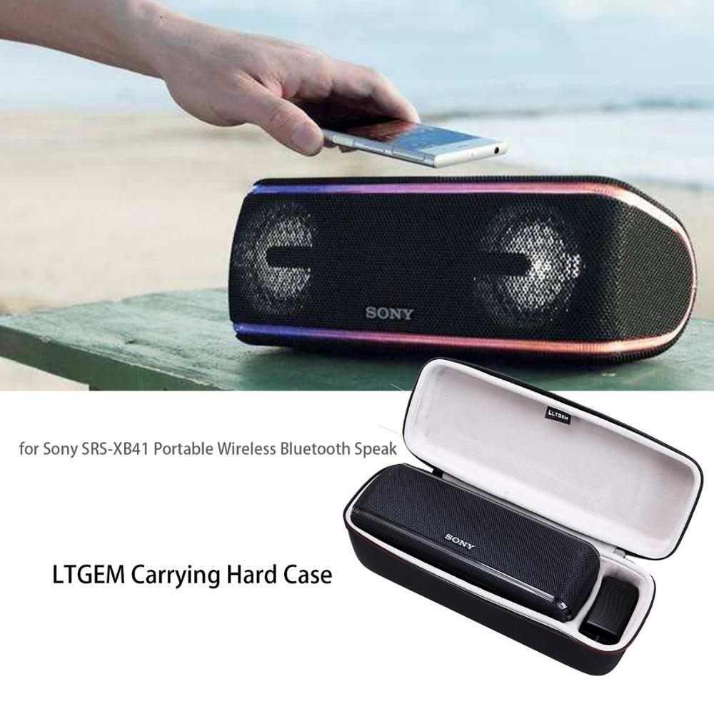 LTGEM Hard Case For Sony SRS-XB41 Portable Wireless Bluetooth Speaker