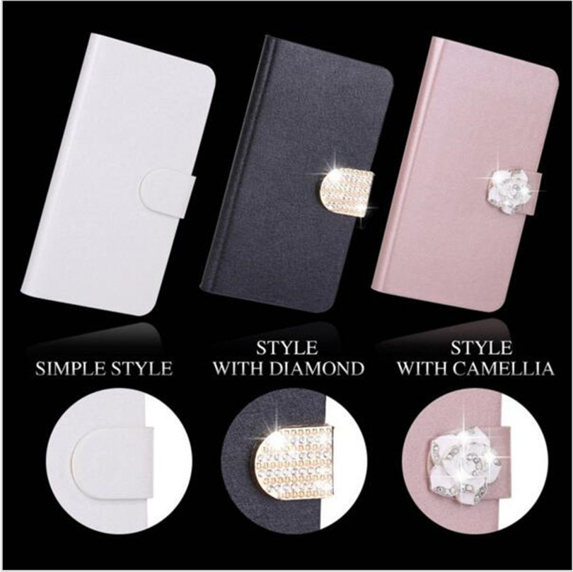 Flip Stand Book Style Silk Case Capa For Sony Xperia XZ2 Compact XA XA1 Plus XA2 XZ XZ1 X Compact Phone Case Protection Shell in Flip Cases from Cellphones Telecommunications