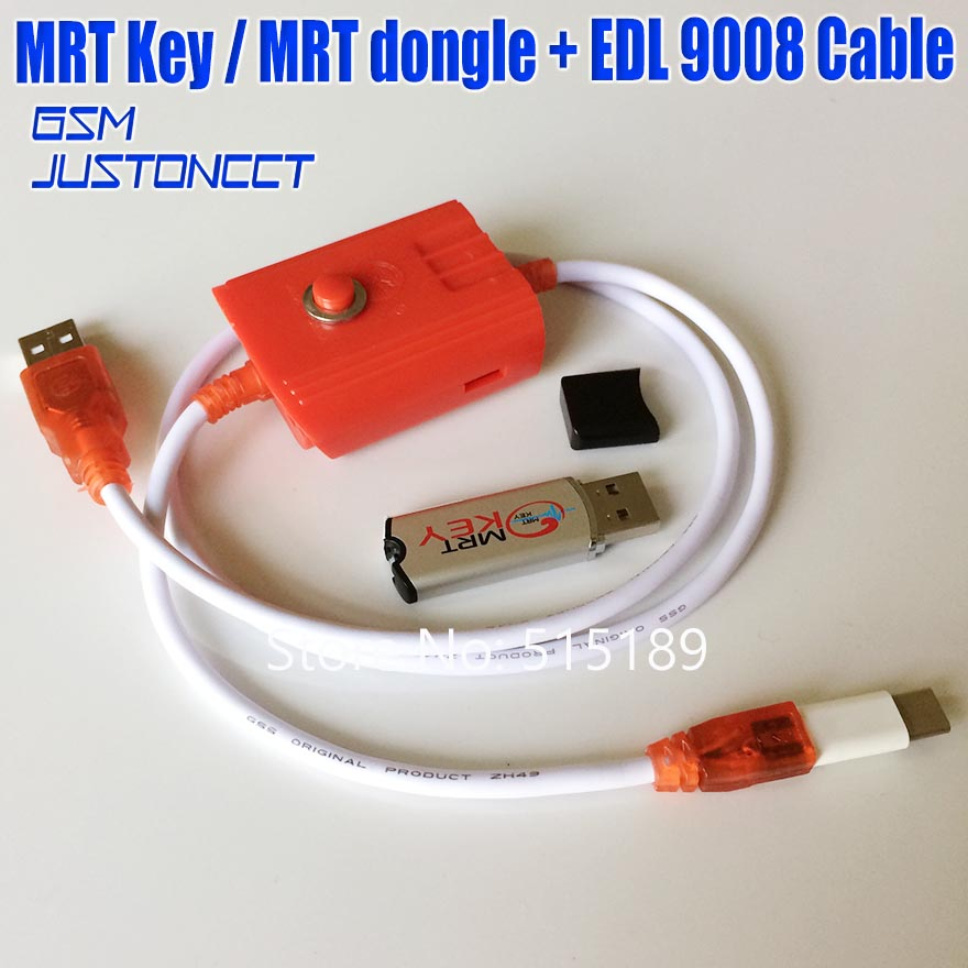 Original MRT Dongle 2 Mrt Key Edl9008 Cable For Coolpad Hongmi Unlock Account Remove Password Imei Repair Fully Activate Version