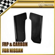 Car-styling Para Nissan 2009-2010 R35 GTR de Fibra De Carbono Estilo J Parachoques Trasero Extensión
