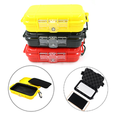 Outdoor Shockproof Box Waterproof Survival Case Container Storage Travel Sealed Containers Carry Box