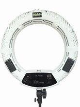Yidoblo White FS-480II 18'' 480pcs LED 3200K-5500K Dimmable BIO-color Photography Video LED Photo Ring Light Studio Day Light