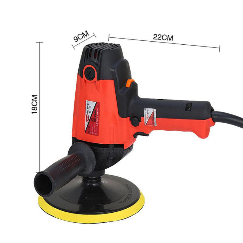 900W Auto Polishing Car Waxing Machine 2000R Electric Gloss Tool Power For Scratch Remove Beauty Car Care Repair Polisher Tools - 3
