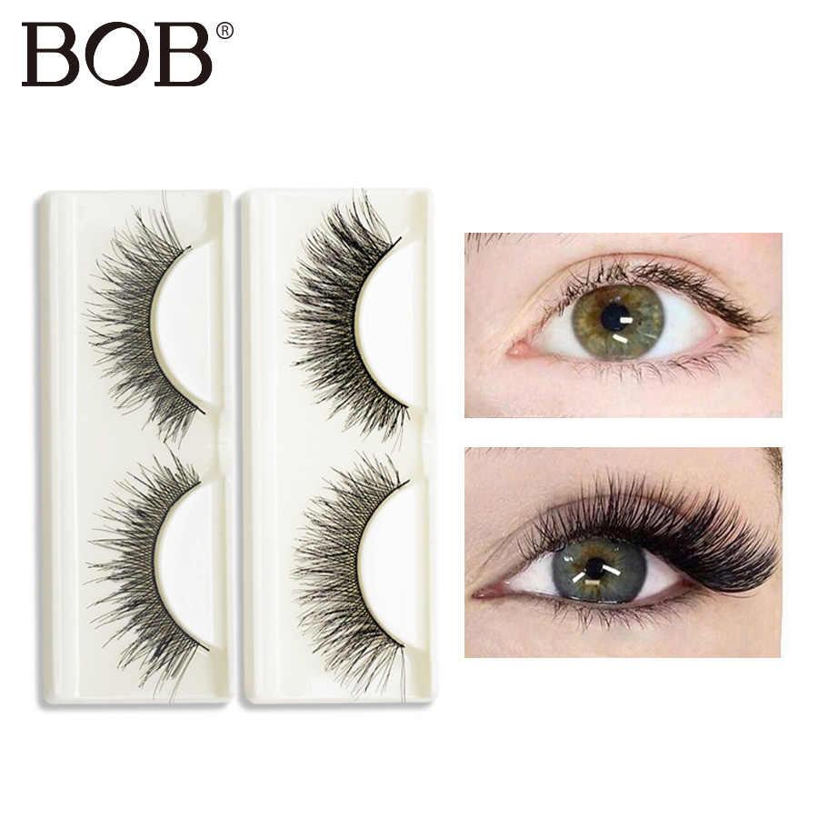 3f4782bb958 BOB Brand Eyelashes 3D Mink Lashes Mink Makeup 3D Lashes Eyelashes Fake  Lashes Thick HandMade 7