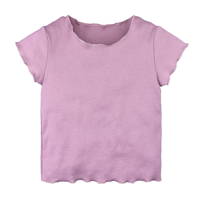 Ubetoku baby boy girls cotton tshirt kids soft Short Sleeve T Shirts Summer Tees Tops