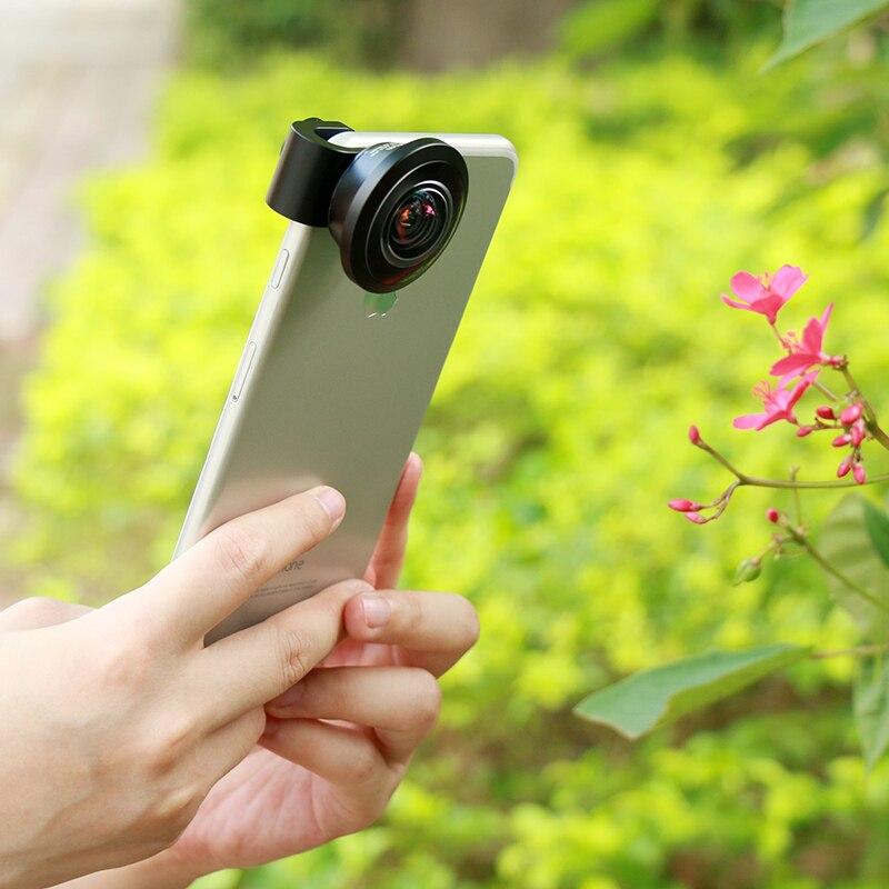 Image 4 - Ulanzi 238 Degree Fisheye HD Lens 0.2X Wide Angle Lens for iPhone  X 7 6 Samsung Huawei Xiaomi 4K HD Clip On Camera Phone Lenslens for  iphonefisheye lensangle lens