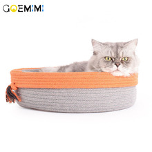 New Cat Sleeping Bed Comfortable Kennel Pet Nest Bag Deep Sleep Tent Small Medium Dogs