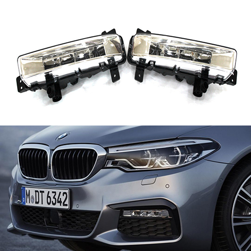 Free Shipping 1 Set LED Fog Lights For BMW New 5 series G38 G30 Cars