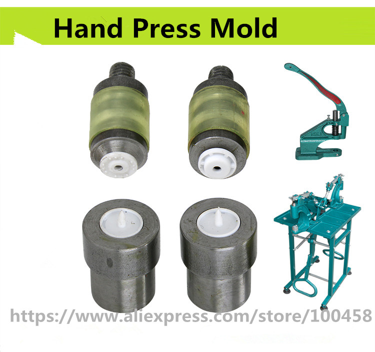 Hand Press Die for Snap Fastener Setter Tools for Press Studs Snaps Button T3,T5