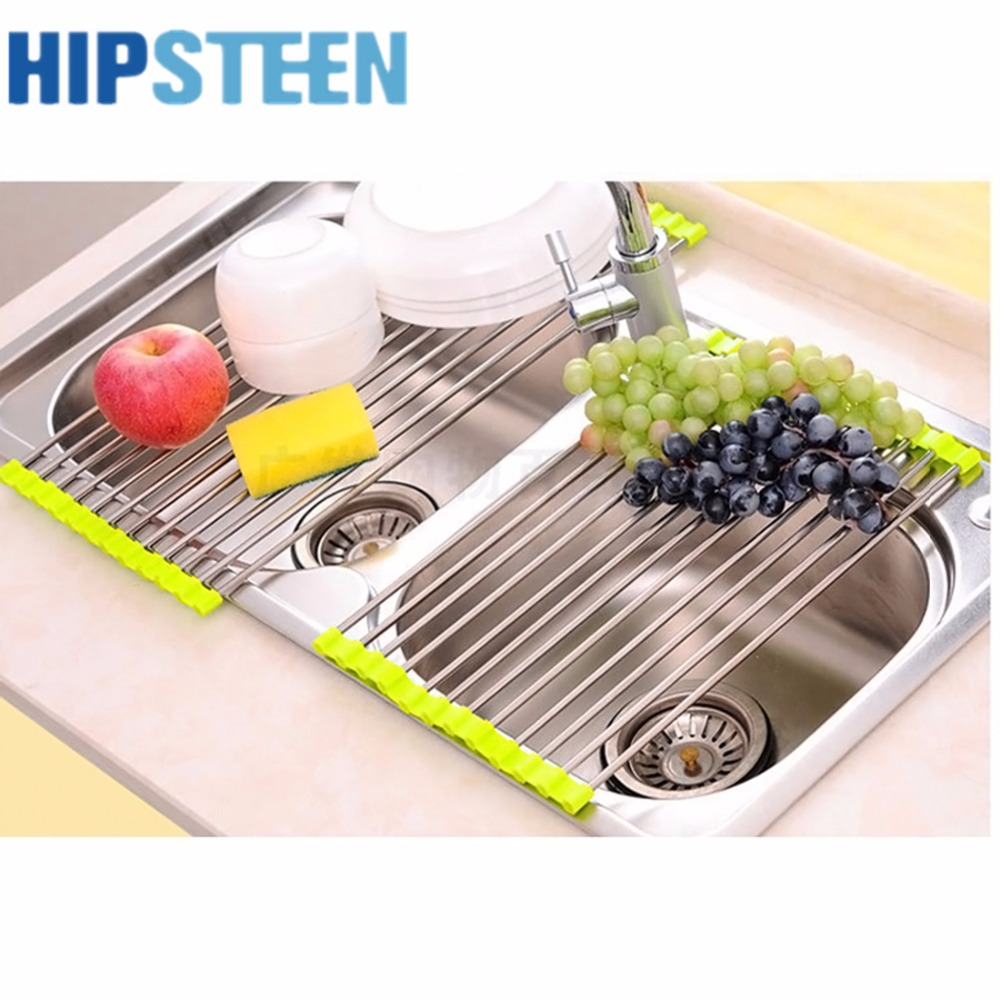 Kitchen Drying Rack For Sink Online Get Cheap Stainless Steel Dish Drying Rack Aliexpresscom