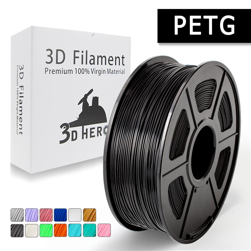 new 3d filament PETG 3D Printer Filament 1 75mm 1KG 2 2LB Spool for Birthday gift
