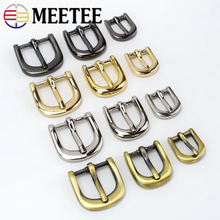 4pc Meetee Handbag Shoes Strap Belt Metal Pin Buckles 11/15/20mm Ring Slider Web Adjuster DIY LeatherCraft Repair AccessoryF3-25 цена