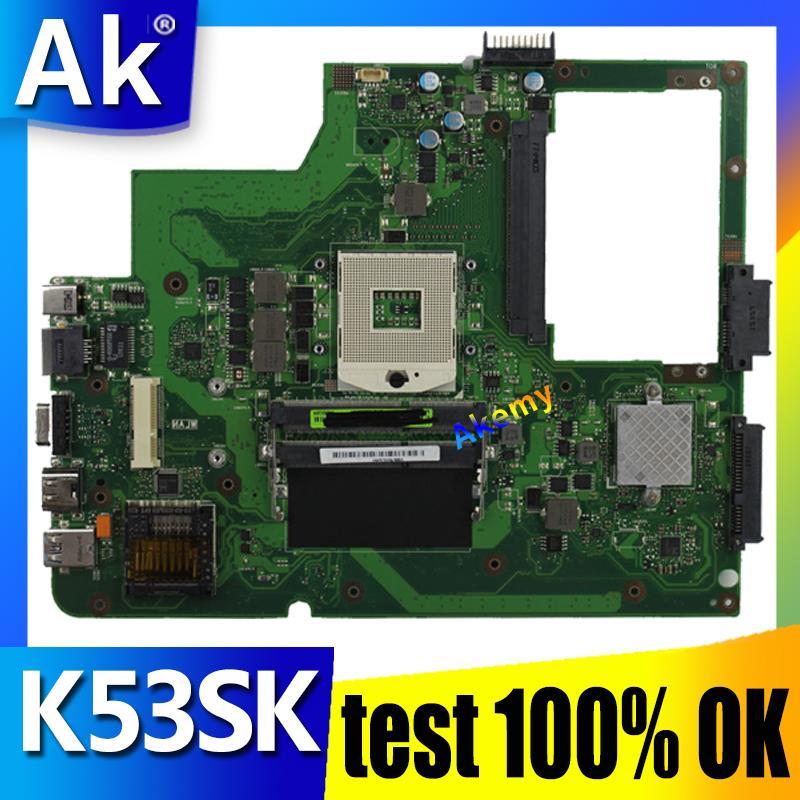 AK K53SK Laptop motherboard para ASUS K53SK Teste mainboard original