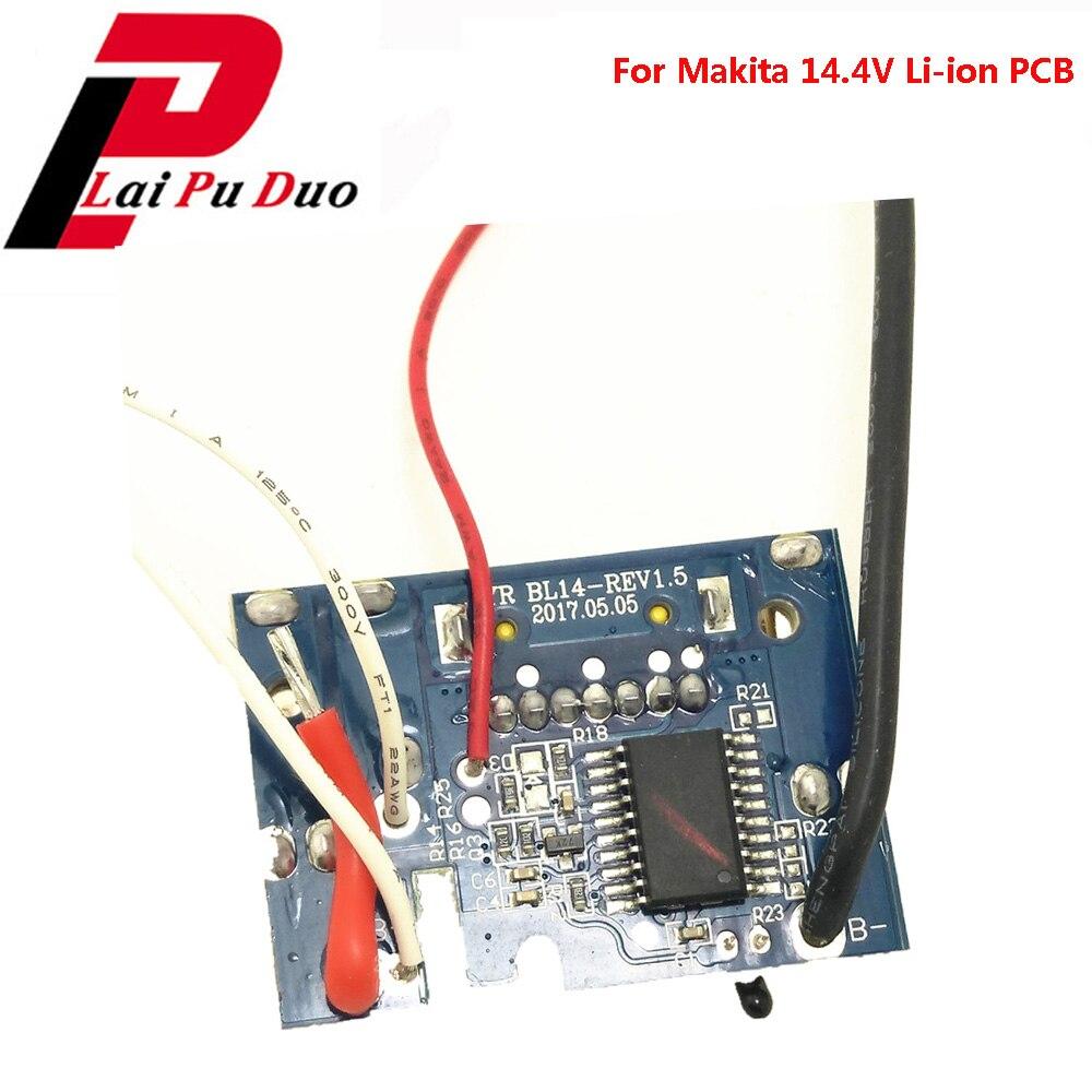 BL1430 Li-ion Battery PCB Circuit Board Charging Protection BL1415 BL1440 BL1445 BL1460 For Makita 14.4V 1.5Ah 3.0Ah 4.5Ah