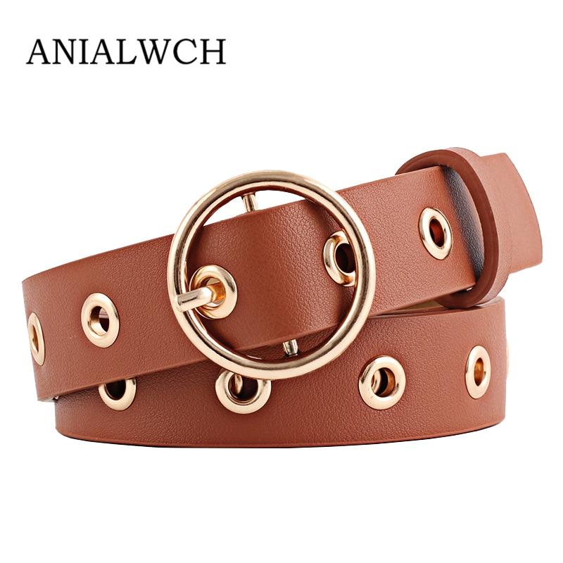 Cinturones de diseñador de señoras de alta calidad para mujeres Jeans 2019 hebillas de latón de moda cinturón de cuero femenino Ceinture N123