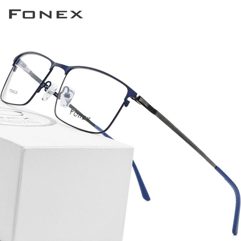 1d7a5e5de3 De aleación de gafas hombres ultraligero Plaza anteojos recetados 2019 hombre  miopía marco óptico sin tornillos de gafas de ojo de vidrio - a.nordga.me