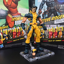Legends Wolfrine Logan Unmasked From Jubilee Wave With Stand Action Figure TOY FREE SHIPPING