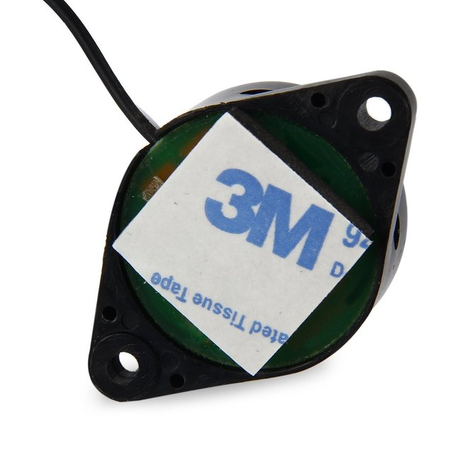 Universal DC12V Car Parking Sensor Electromagnetic Parking Back-up Alarm Radar Monitor System E-Packet Free