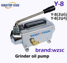 Grinding Oil Pump Y-8 Manual Pump Hand Lubrication Pump  Machine Oil Pump