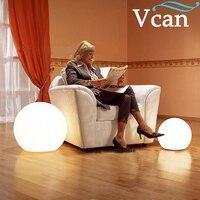 Oferta 25cm de diámetro control remoto colores cambiar forma de bola LED luz VC-B250
