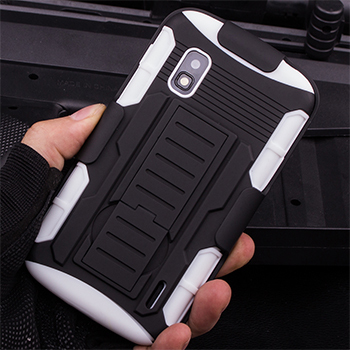 best service cfffb ebf5d For LG Nexus 4 E960 Case Rugged Shockproof Hybrid Hard Case For LG Google  Nexus 4 E960 Cell Phone Back Cover Fundas + Stylus-in Fitted Cases from ...