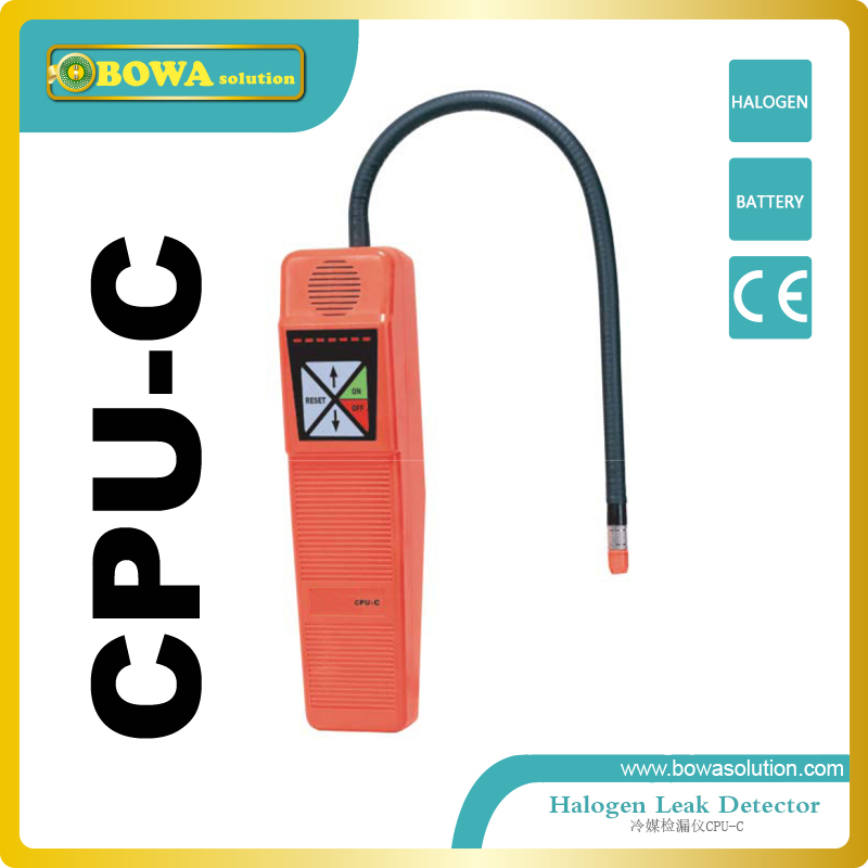 Leak detector for detecting cleaning agents used in dry cleaning applications such as per chloroethylene multilevel logistic regression applications