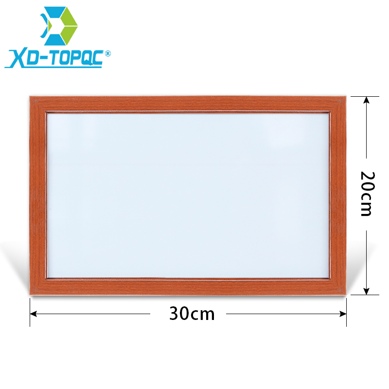 XINDI 20*30cm 10 Colors Whiteboard Dry Erase White Board MDF Wood Frame Memo Boards Magnetic Erasable With Free Accessories WB21