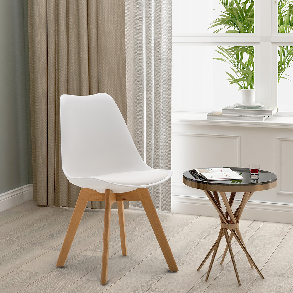 4pcs Modern Style Dining Chair Comfortable And Durable Chair