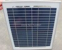 BUHESHUI 10 واط 18 فولت الكريستالات لوحة شمسية من السيليكون تستخدم ل 12 فولت الطاقة الضوئية المنزل لتقوم بها بنفسك النظام الشمسي جودة عالية